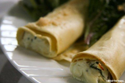 FR : Cannelloni à la ricotta EN : RIcotta cannelloni