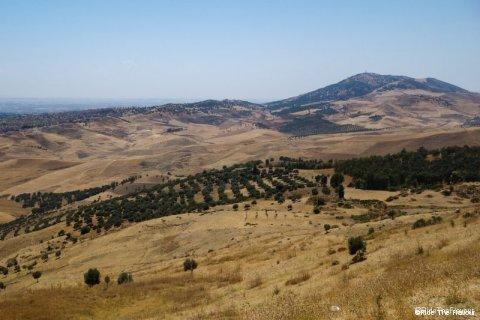Les paysages désertique de la région de Fes