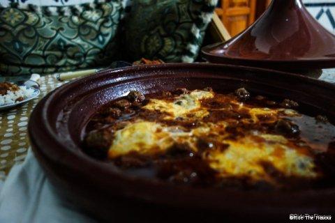 FR : Tajine de Kefta aux oeufs / EN : Kefta Tagine with eggs